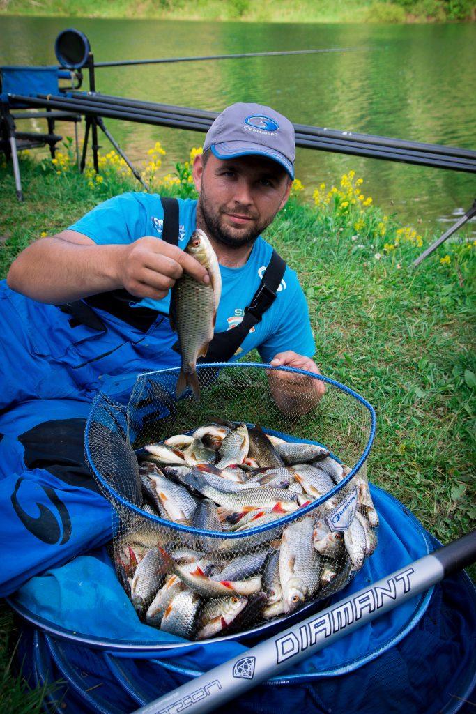Belle pêche de Gardons avec Garbolino Diamant