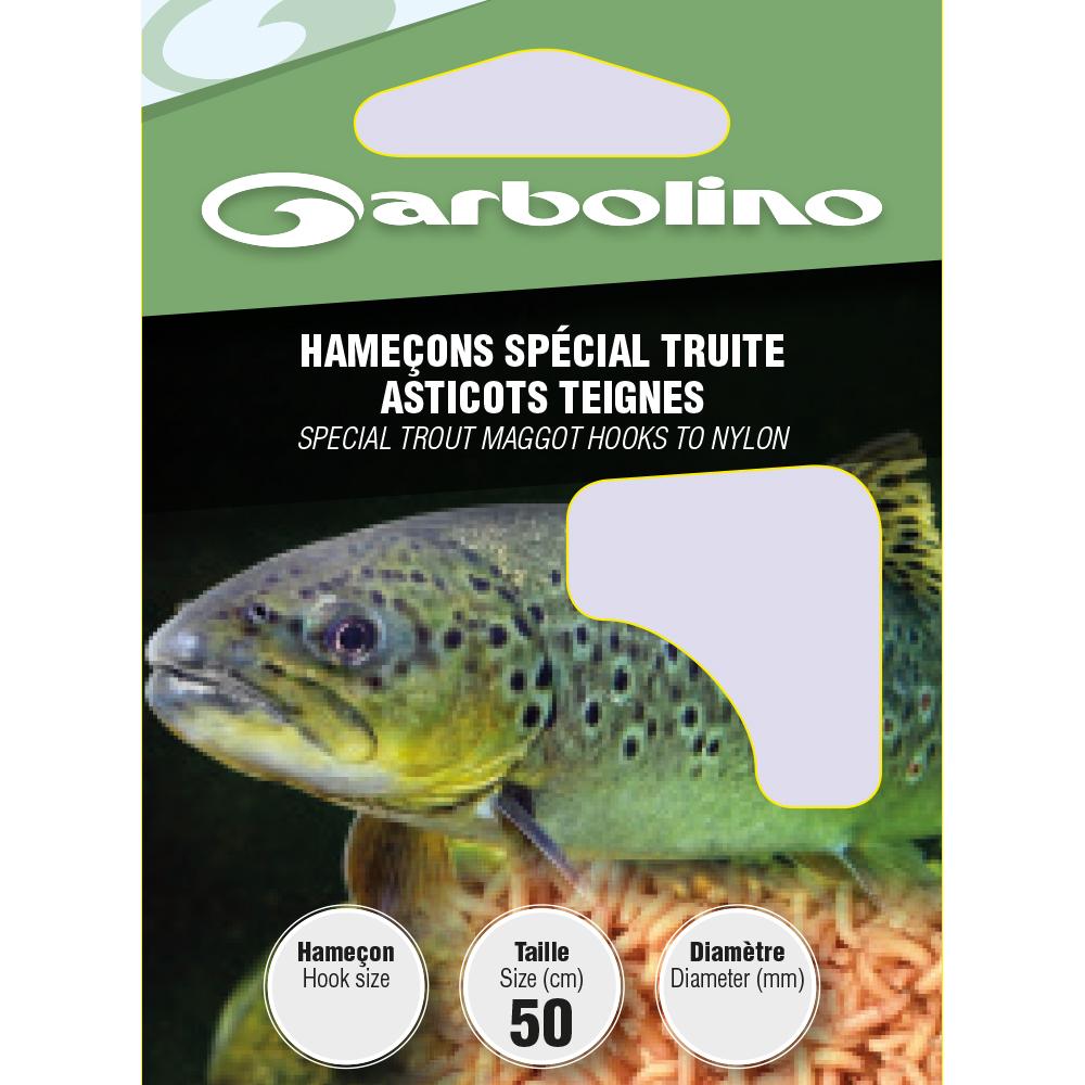 HAMECONS SPECIAL TRUITE ASTICOTS TEIGNES - Garbolino