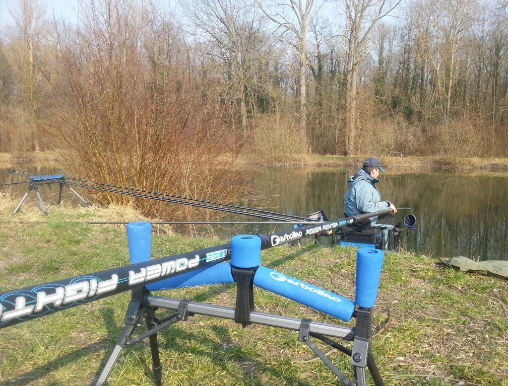 Garbolino Power Fighter pêche carpes printanières