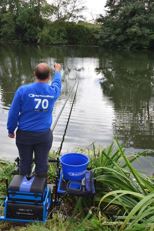 La ligne de boutique pop et la pêche