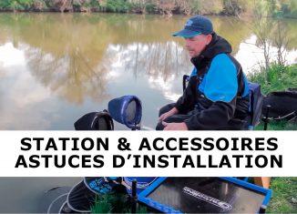 installation station pêche au coup